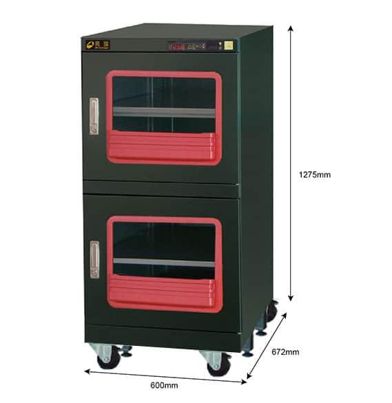 F1B 400 - 0.1%RH Dry Cabinet | 411L | smtdryboxes.com