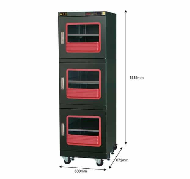 F1B 600 - <1%RH Dry Cabinet | 624L | smtdryboxes.com