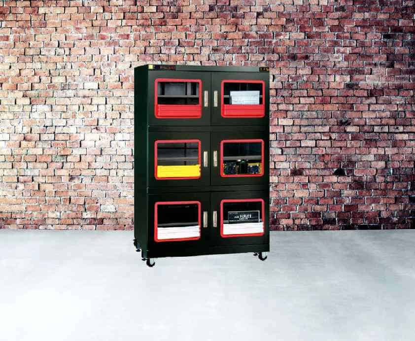 F1 Series Ultra Low Humidity Dry Cabinets - %1RH