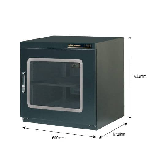 XC 200 Dry Cabinet, <5% RH, 202 Litre Capacity, Desiccant Dry Cabinet, Nitrogen Dry Cabinet