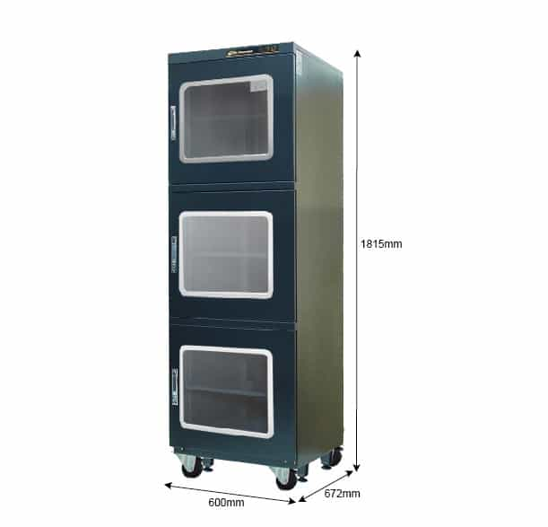 XC 600 Dry Cabinet, <5% RH, 624 Litre Capacity, Desiccant Dry Cabinet, Nitrogen Dry Cabinet