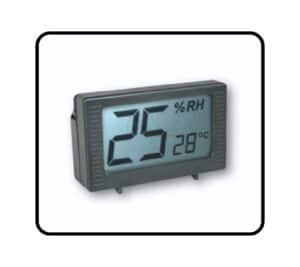 XC Series feature a Percision CP03 Hygrometer to monitor the relative humidity of each dry cabinets