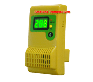 Dual Sensor Data Logger to measure the relative humidiy of your dry cabinet / dessicant cabinet