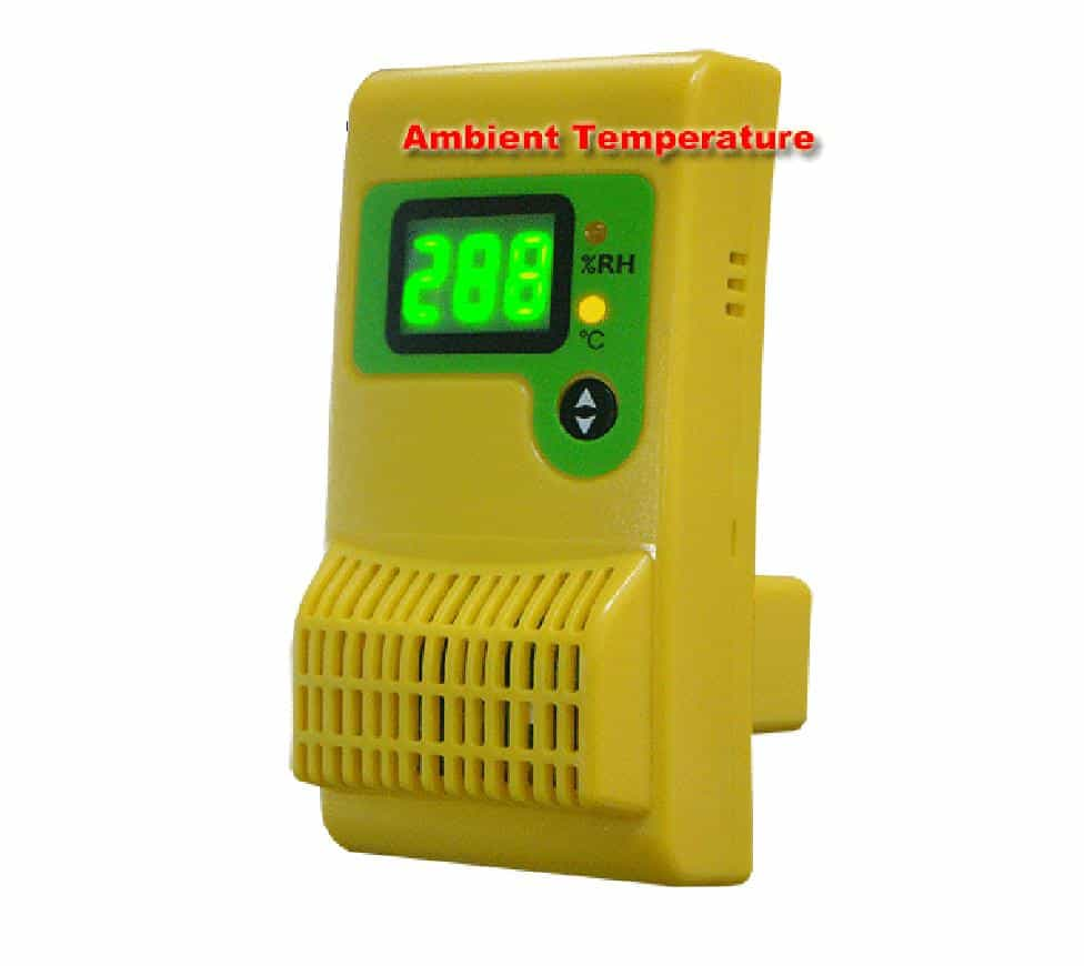 Dual Sensor Data Logger - Records Both the Relative Humidity and Ambient Tempature of Your Dry Cabinet or Baking Dry Cabinet
