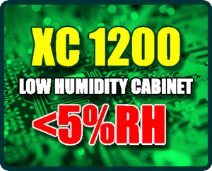 XC 1200 5%RH Low Humidity Dry Cabinet | smtdryboxes.com