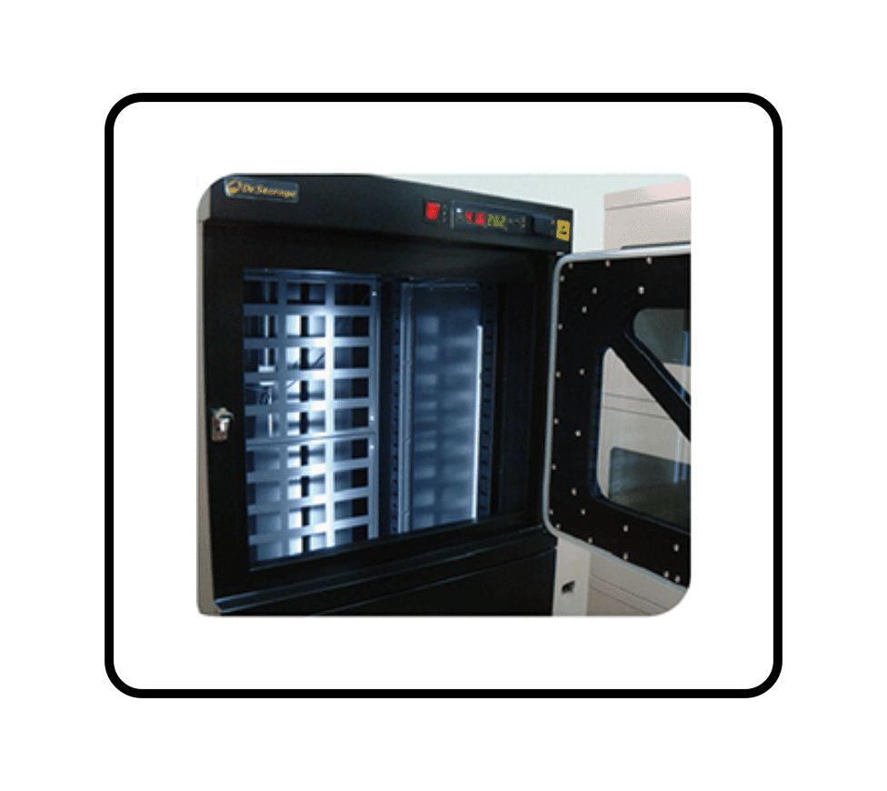 SMT Dry Boxes - T60W Baking Dry Cabinets - Interior Lighting