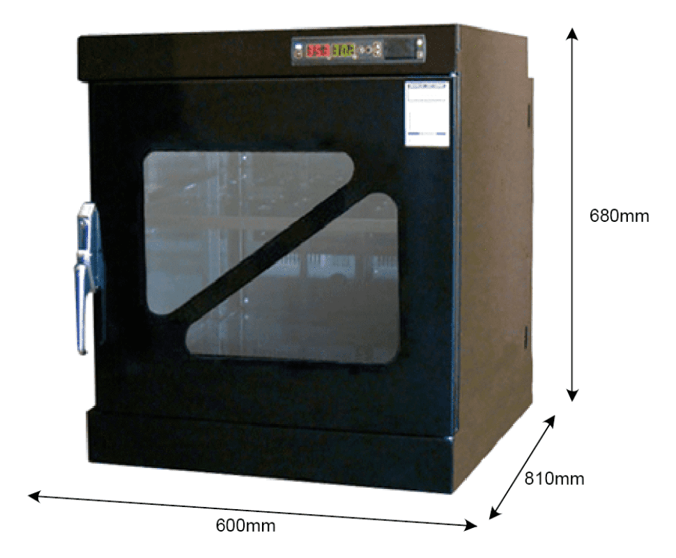 T40W 240 - 5%RH - 40C Dry Cabinet | Capacity: 126L