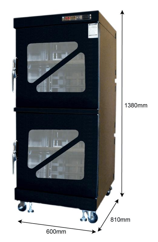 T60W 480 - 1%RH - 60C Dry Cabinet   Capacity: 302L