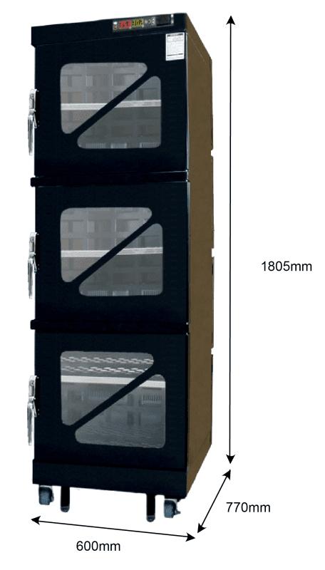 T60W 600 - 1%RH - 60C Dry Cabinet | Capacity: 395L