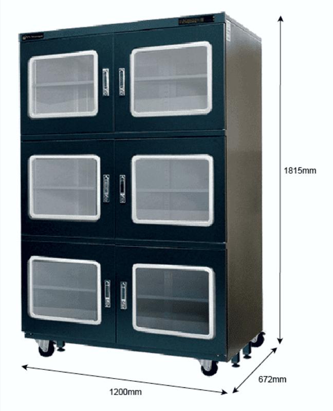 X2B 1200 - <5%RH Dry Cabinet | 1250L | smtdryboxes.com