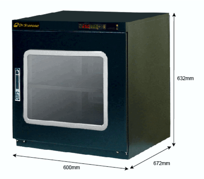 X2B 200 - <5%RH Dry Cabinet | 202L | smtdryboxes.com