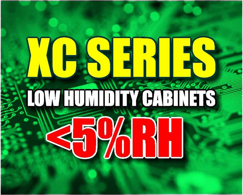 XC Series Dry Cabinet, <5%RH, Desiccant Cabinet, Nitgrogen Dry Cabinet Sales and Accessories